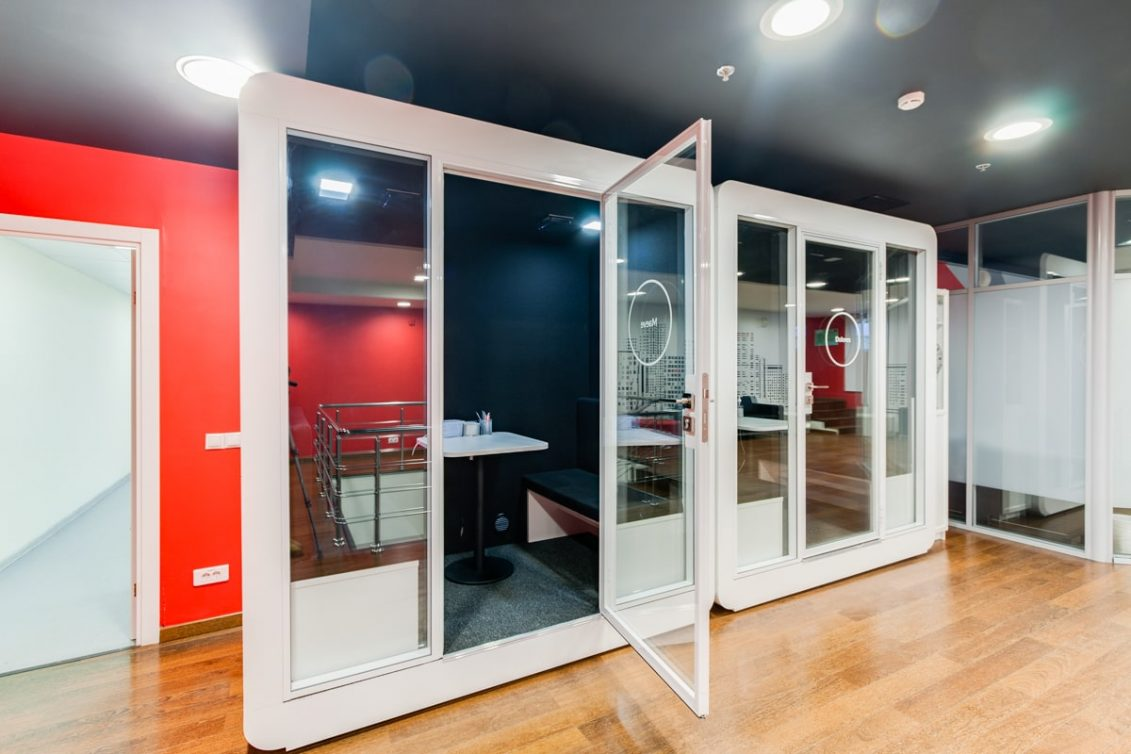 Cabine acustiche: Look Wood Office Project