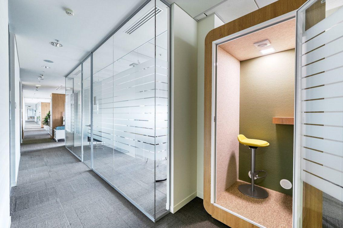 Акустические кабины: Look Wood Office Project